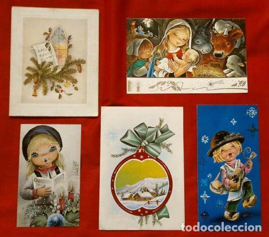 Felicitaciones Escritas De Navidad.5 Antiguas Felicitaciones De Navidad C Y Z Es Vendido En