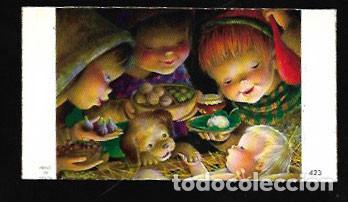 TARJETA NAVIDAD FERRÁNDIZ MINIATURA (Postales - Postales Temáticas - Navidad)