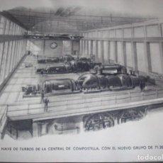 Postales: CURIOSA FELICITACION NAVIDEÑA - ENDESA 1951-1952. Lote 155734466