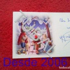 Postales: TUBAL POSTAL FELICITACION NAVIDAD ANTIGUA. Lote 156326126