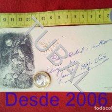 Postales: TUBAL FERRANDIZ POSTAL FELICITACION NAVIDAD ANTIGUA. Lote 156327178