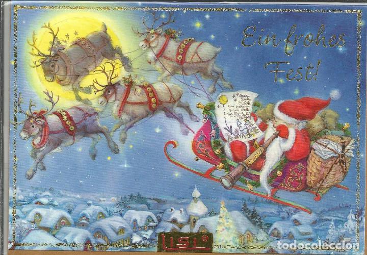 POSTAL NAVIDAD LISI MARTIN - DIPTICA, 16,5X11,5 CM.- EDIC. PICTURA GRAPHICA (Postales - Postales Temáticas - Navidad)