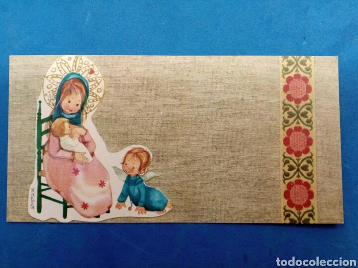 Postales: Lote 4 Postales Navidad , Rafela ,Ediciones Sabadell , año 1969 - Foto 2 - 156550213