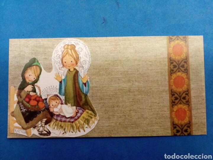 Postales: Lote 4 Postales Navidad , Rafela ,Ediciones Sabadell , año 1969 - Foto 3 - 156550213