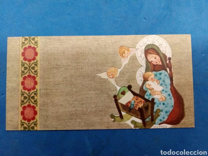 Postales: Lote 4 Postales Navidad , Rafela ,Ediciones Sabadell , año 1969 - Foto 4 - 156550213