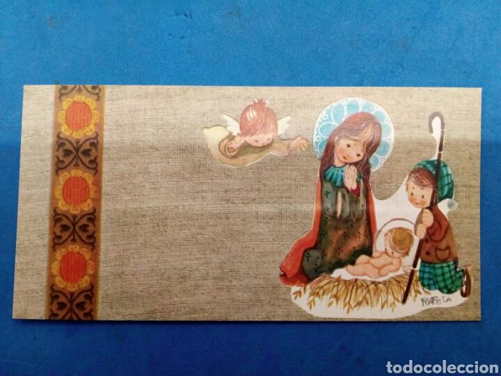 Postales: Lote 4 Postales Navidad , Rafela ,Ediciones Sabadell , año 1969 - Foto 5 - 156550213