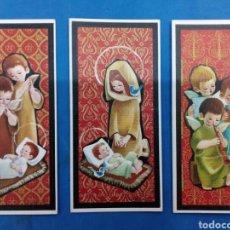 Postales: LOTE 3 POSTALES NAVIDAD , EDICIONES SABADELL , AÑO 1967. Lote 156552473