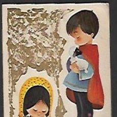 Postales: FELICITACION NAVIDAD TROQUELADA EN DIORAMA * NIÑOS CANTANDO A JESÚS * 1964. Lote 156619262