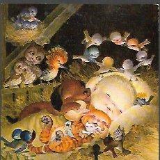 Postales: FELICITACION NAVIDAD FERRÁNDIZ * NIÑO JESÚS RODEADO DE ANIMALITOS * ( 16 ,50 X 13,50 ). Lote 156624110