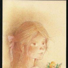 Postales: POSTAL NAVIDAD *ROSER PUIG* - ED. BUSQUETS, SERIE 04.15.122- DIPTICA, 21X10,5 CM.. Lote 156770190