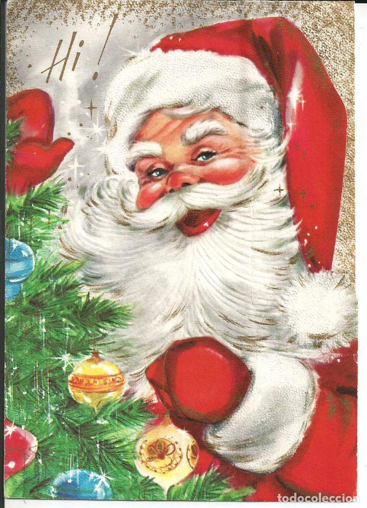 Imagenes De Papa Noel De Navidad.Postal Navidad Papa Noel Santa Claus 1966 Vendido En