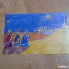 Postales: LOS REYES MAGOS DE ORIENTE -- TOM YENDELL -- CHRISTMAS -- ASOCIACIÓN PINTORES CON BOCA Y PIE. Lote 158279258
