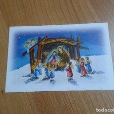 Postales: ADORACIÓN DE LOS ÁNGELES -- NATALINA MARCANTONI -- CHRISTMAS -- ASOCIACIÓN PINTORES CON BOCA Y PIE. Lote 158280858