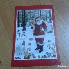 Postales: PAPÁ NOEL Y SUS REGALOS -- IWAO ADACHI -- CHRISTMAS -- ASOCIACIÓN PINTORES CON BOCA Y PIE. Lote 158281590