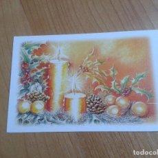 Postales: BODEGÓN NAVIDEÑO -- TRIANTAFILLOS ILLIADIS -- CHRISTMAS -- ASOCIACIÓN PINTORES CON BOCA Y PIE. Lote 158283470
