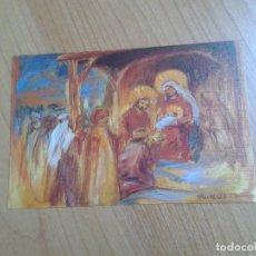 Postales: ADORACIÓN DE LOS MAGOS -- RUTH CHRISTENSEN -- CHRISTMAS -- ASOCIACIÓN PINTORES CON BOCA Y PIE. Lote 158283726