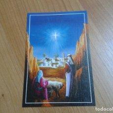 Postales: LA ESTRELLA DE BELÉN -- CHRISTMAS -- ASOCIACIÓN PINTORES CON BOCA Y PIE. Lote 158285826