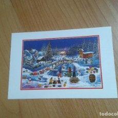 Postales: LA FIESTA DE NOCHEBUENA -- CHRISTMAS -- ASOCIACIÓN PINTORES CON BOCA Y PIE. Lote 158287482
