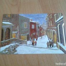 Postales: NOCHE DE PAZ -- CHRISTMAS -- ASOCIACIÓN PINTORES CON BOCA Y PIE. Lote 158288874