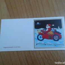 Postales: MINI POSTAL -- CHRISTMAS -- DIPTICO -- PINTADO CON LA BOCA -- ASOCIACIÓN PINTORES CON BOCA Y PIE. Lote 158380966