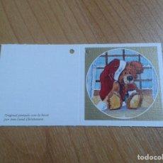 Postales: MINI POSTAL -- CHRISTMAS -- DIPTICO -- PINTADO CON LA BOCA -- ASOCIACIÓN PINTORES CON BOCA Y PIE. Lote 158382206