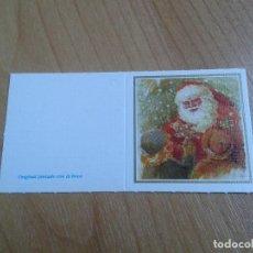 Postales: MINI POSTAL -- CHRISTMAS -- DIPTICO -- PINTADO CON LA BOCA -- ASOCIACIÓN PINTORES CON BOCA Y PIE. Lote 158383234