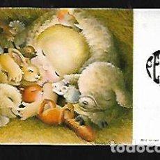 Postales: TARJETA NAVIDAD FERRÁNDIZ * NIÑO JESÚS CON ANIMALITOS *1968. Lote 158938430