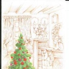 Postales: POSTAL NAVIDAD EDICIONES ESTAMPA - DIPTICA, 13X8,5 CM . Lote 159570090