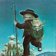 Postales: FELICITACION NAVIDAD FERRÁNDIZ * CAMINAR DE ESTRELLAS * ( 17 X 11 ) 1973. Lote 159787706
