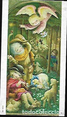 TARJETA NAVIDAD FERRÁNDIZ * ANGEL ANUNCIANDO EL NACIMIENTO *(15 X 8,50)1975 (Postales - Postales Temáticas - Navidad)