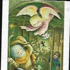 Postales: TARJETA NAVIDAD FERRÁNDIZ * ANGEL ANUNCIANDO EL NACIMIENTO *(15 X 8,50)1975. Lote 159820374