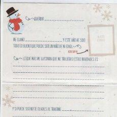 Postales: CARTA A LOS REYES MAGOS DE ORIENTE. Lote 228439385