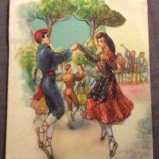 Postales: POSTAL TROQUELADA. FREIXAS M.C. 29 . ESCRITA AÑOS 50-60. Lote 160450022