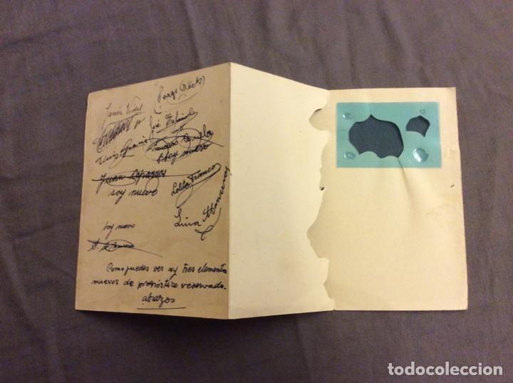 Postales: POSTAL TROQUELADA. FREIXAS M.C. 29 . ESCRITA AÑOS 50-60 - Foto 3 - 160450022