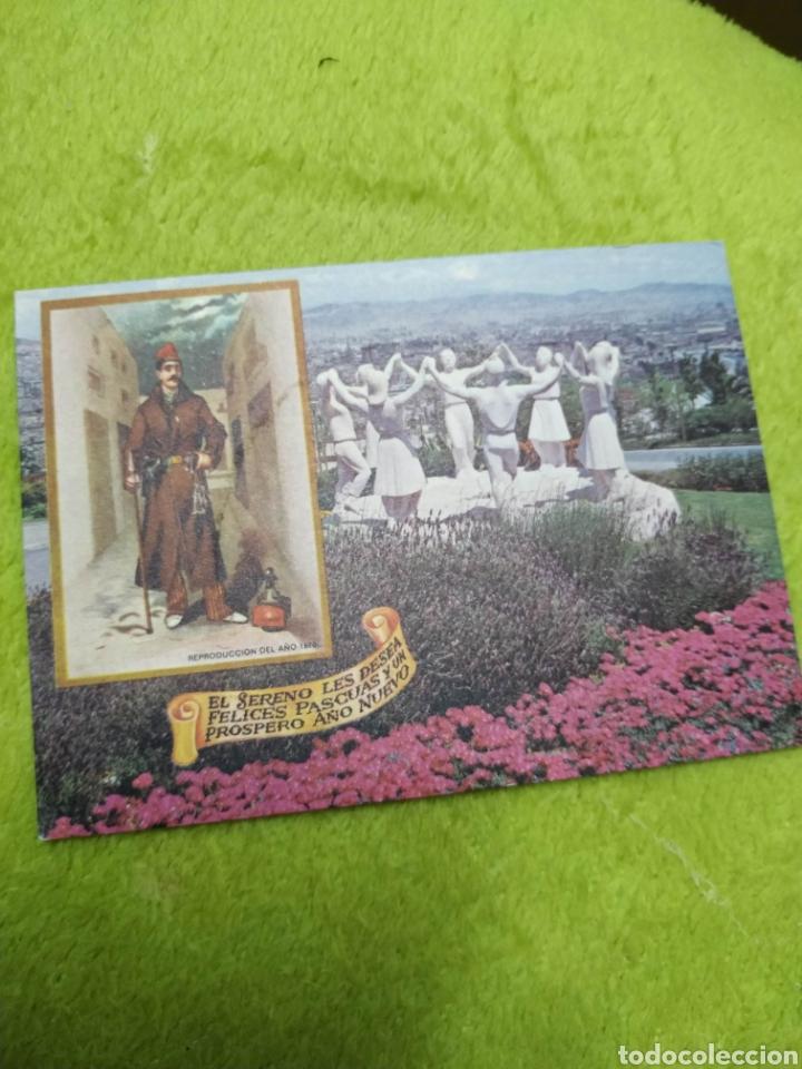 POSTAL O FELICITACION TARGETA NAVIDAD SERENO 1975 BARCELONA (Postales - Postales Temáticas - Navidad)