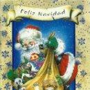 Postales: 0899M- EDICIONES KADI 02855 -SANTA CLAUS PREPARANDO SU SACA NAVIDEÑA-DIPTICA, EN RELIEVE -17X11,5 CM. Lote 161005850