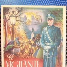 Postales: FELICITACIÓN DE NAVIDAD DE *EL VIGILANTE*, TEXTO EN EL DORSO. AÑO 1946. 13 X 9,5 CM. INF. 2 FOTOS. Lote 262722760
