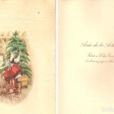 Postales: POSTAL NAVIDAD-PUBLICITARIA, ANÍS DE LA ASTURIANA, AÑOS 60. Lote 165840210