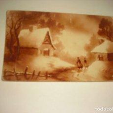 Postales: ANTIGUA POSTAL DE NAVIDAD NOX, ESCRITA 1928. Lote 165971606