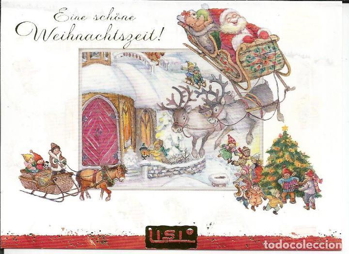 POSTAL NAVIDAD *LISI MARTIN* - ED. PICTURA, DIPTICA, 14,5X10,5 CM (Postales - Postales Temáticas - Navidad)