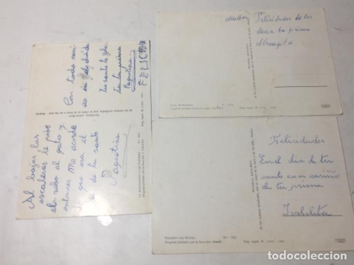 Postales: Original antiguo tarjetas navidad - Foto 2 - 166195346
