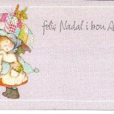 Postales: POSTAL NAVIDAD *SALMONS* - ED. BUSQUETS 02.033.087.92 - 16,5X8,5 CM.. Lote 166445660