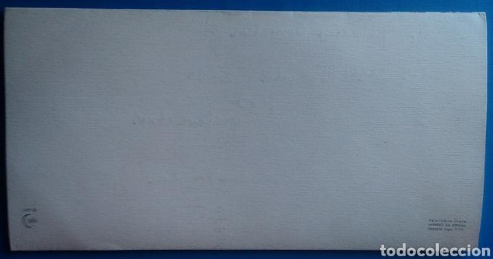 Postales: Tarjeta diptico felicitación Navidad ilustra Isabel Burgos escrita / 10 x 20 cm - Foto 2 - 166957842