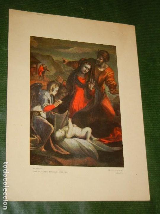 FELICITACION MAQUINAS DE COSER ALFA 1974 - NATIVIDAD BERRUGUETE (Postales - Postales Temáticas - Navidad)