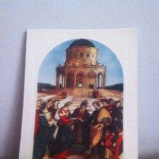 Postales: CASAMIENTO DE LA VIRGEN ( AÑOS 50) DIPTICO 17X12 CM. Lote 168955561