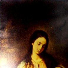 Postales: TARJETA DE FELICITACIONES. CHRISTMAS. LA VIRGEN Y EL NIÑO. ALONSO CANO. MUSEO DEL PRADO.. Lote 169383932