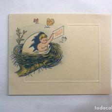 Postales: NAVIDAD. VALENCIA, FELICITACIÓN NAVIDEÑA CLINICA DE NIÑOS, DR. JOSÉ SELFA (A.1951). Lote 169612896