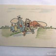 Postales: NAVIDAD. VALENCIA, FELICITACIÓN NAVIDEÑA ICARO. REVISTA AERONÁUTICA DE RADIO NACIONAL.... Lote 169613073