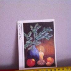 Postales: MELZER. POSTAL NAVIDAD ( AÑOS 60) DIPTICO 14X10 CM. Lote 169670690