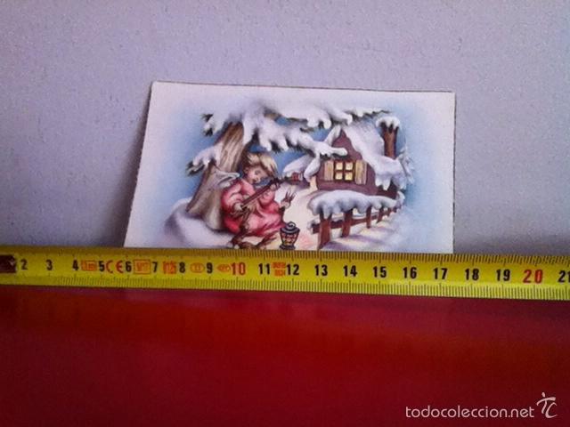 M,BARO. POSTAL NAVIDAD ( AÑOS 50) SENCILLA 13X9CM (Postales - Postales Temáticas - Navidad)